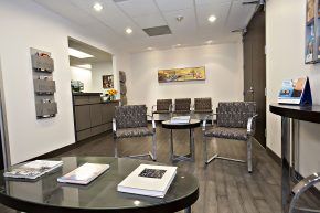Waiting Room of Wieder Dermatology in Santa Monica, CA