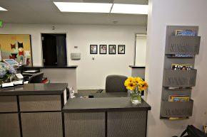 Front Office of Wieder Dermatology in Santa Monica, CA