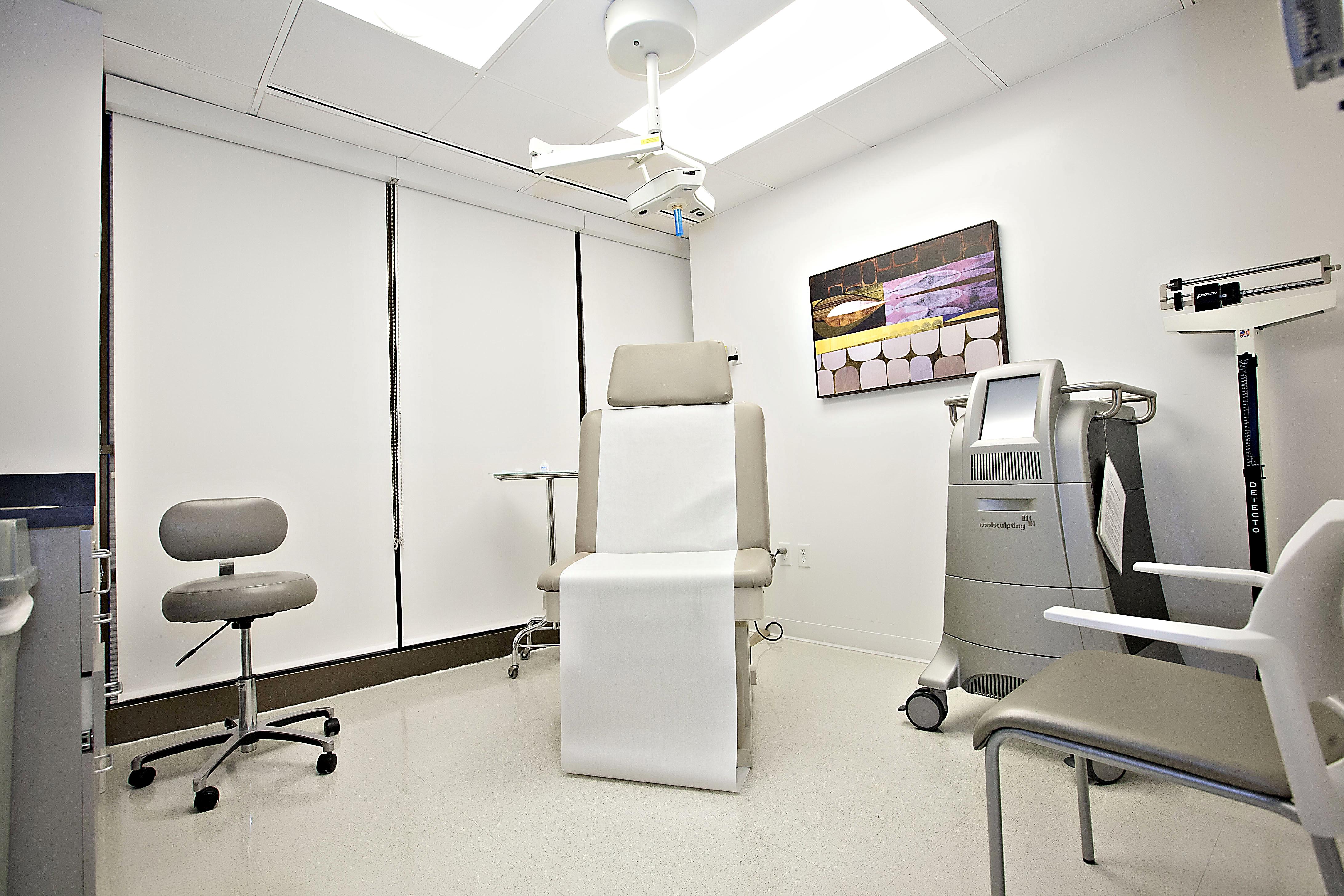 Patient Treatment Room of Wieder Dermatology in Santa Monica